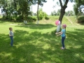 игры с надувными мячами