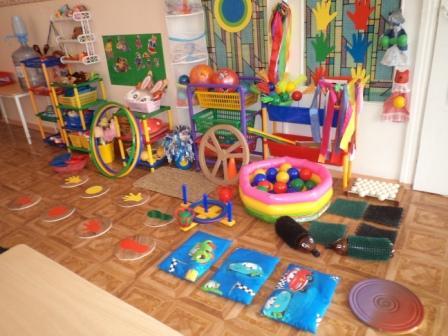 Физ.уголок в детском саду своими руками
